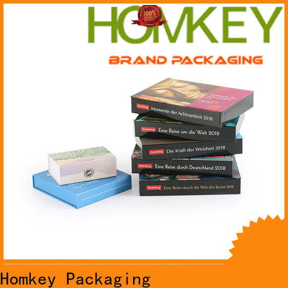 Homkey Packaging popular jewelry gift boxes with cheap price for gift items
