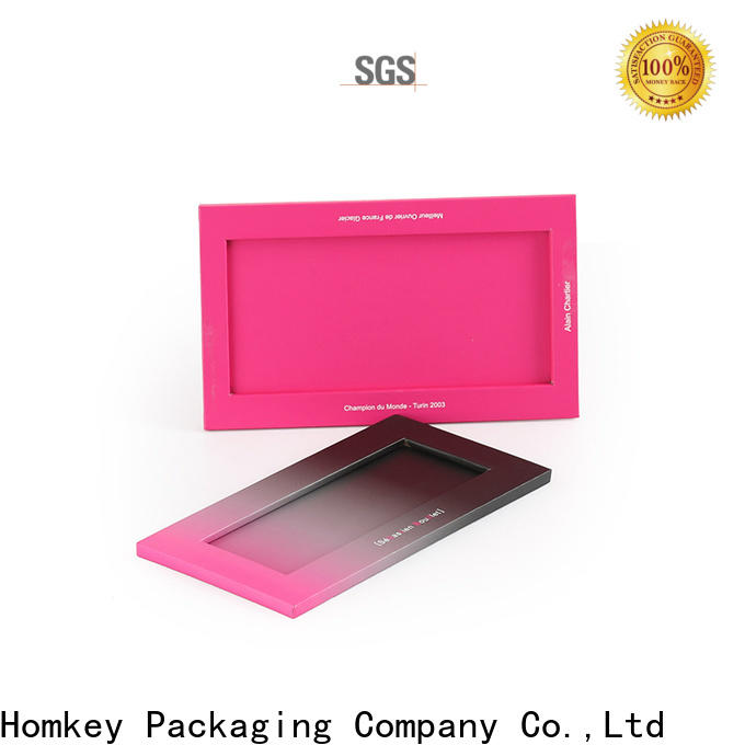 Homkey Packaging new-arrival chocolate gift boxes order now for product packing