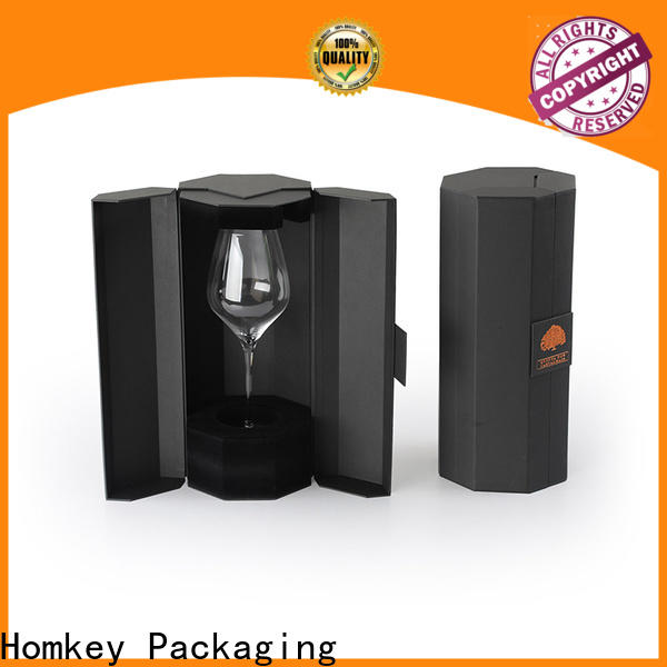 Homkey Packaging wine wine case box widely-use for gift wrapping