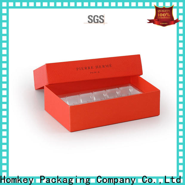 Homkey Packaging hot-sale chocolate packaging owner for gift packing