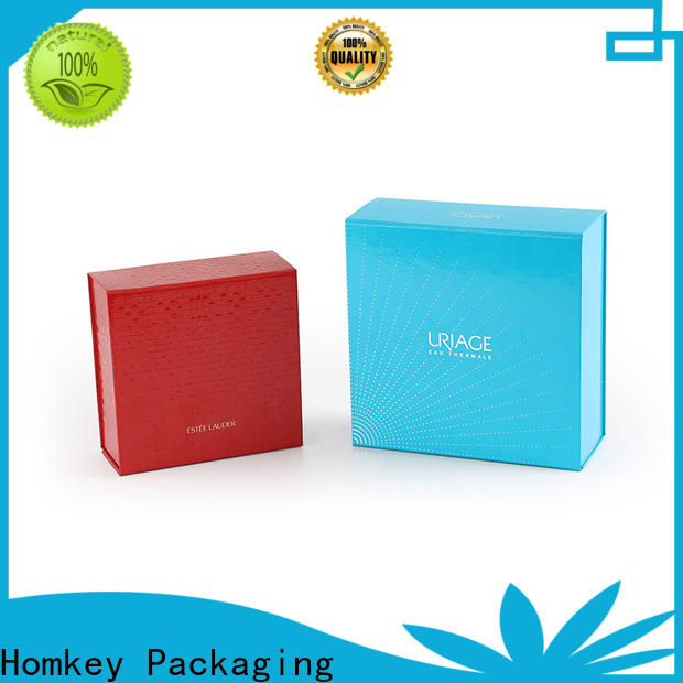 Homkey Packaging fine- quality cosmetic boxes in different shape for beauty items