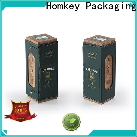 Homkey Packaging magnetic wine gift box experts for gift wrapping