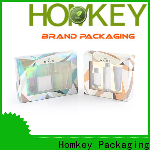 Homkey Packaging quality cosmetic packaging boxes owner for cosmetics