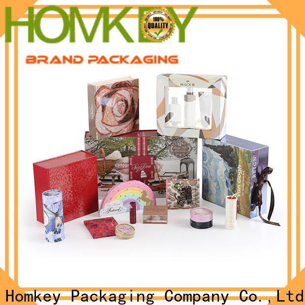 Homkey Packaging superior cosmetic boxes owner for skincare items
