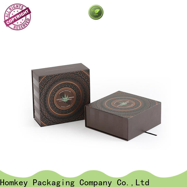 Homkey Packaging box CBD packaging experts for medical