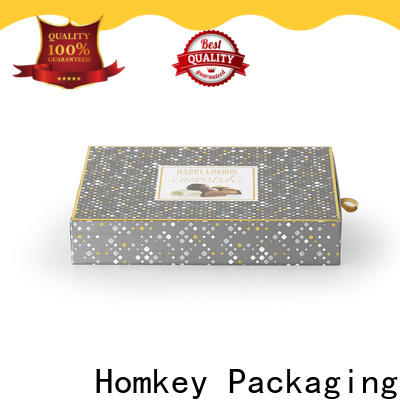 hot-sale custom chocolate boxes two owner for factory