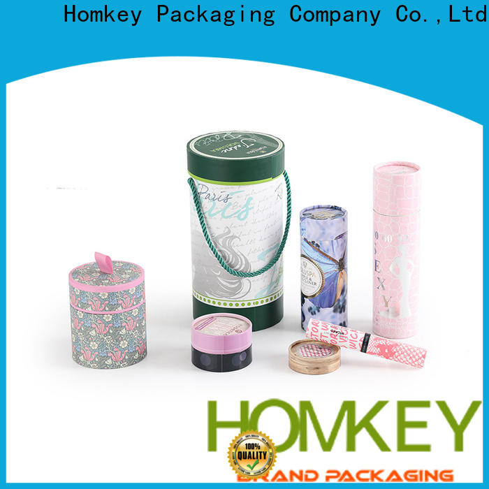 Homkey Packaging industry custom makeup boxes in different shape for cosmetics