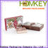 Homkey Packaging cosmetics cosmetic packaging boxes wholesale in different shape for cosmetics