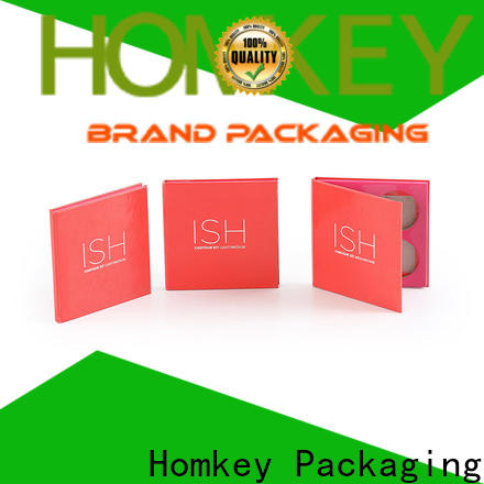 Homkey Packaging boxes custom packaging boxes wholesale for beauty items