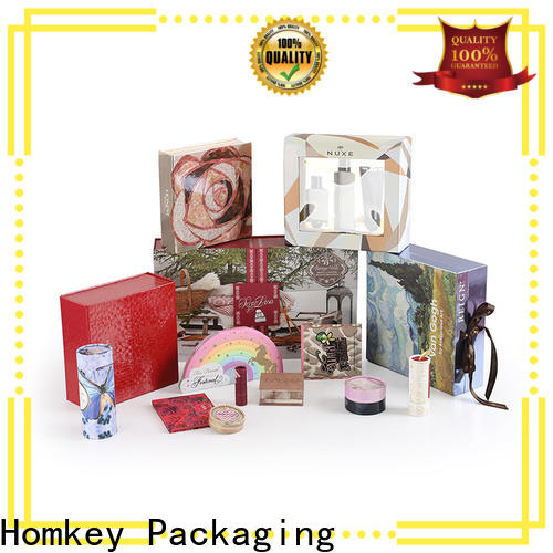 Homkey Packaging best cosmetic packaging boxes wholesale supplier for maquillage