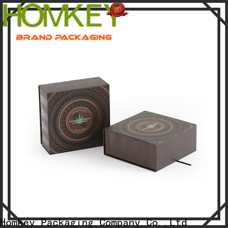 Homkey Packaging boxes CBD packaging for factory