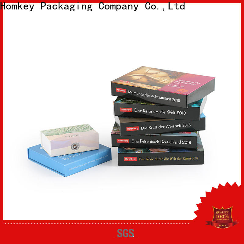 Homkey Packaging superior custom gift boxes widely-use for gift wrapping