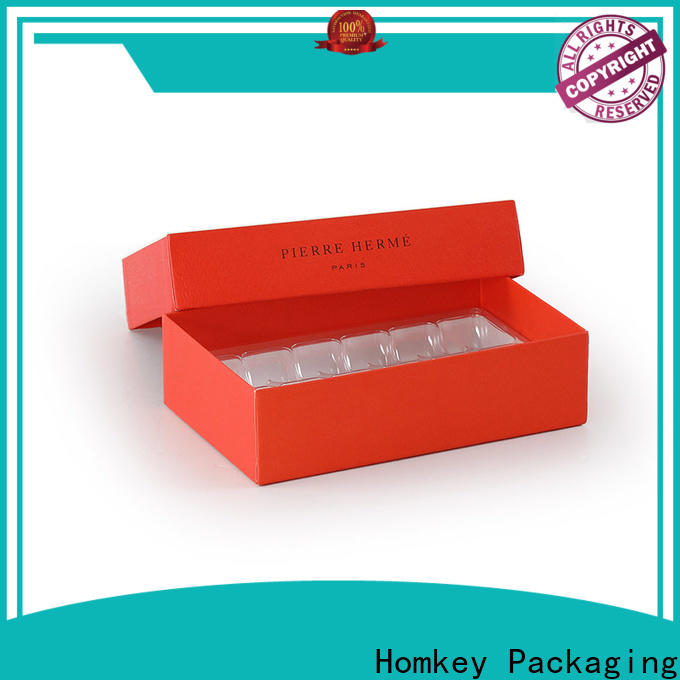 Homkey Packaging circular chocolate packing boxes widely-use for gift wrapping