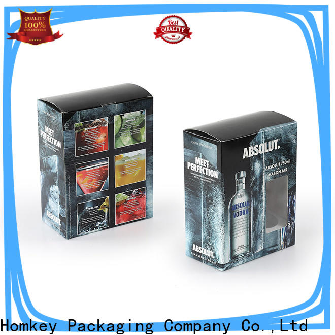 Homkey Packaging fine- quality wine bottle packaging long-term-use for gift wrapping