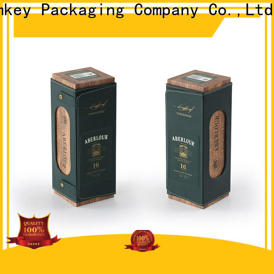 Homkey Packaging hot-sale wine case box long-term-use for gift packing