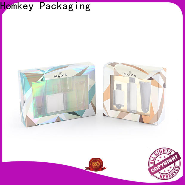 Homkey Packaging luxury cosmetic box owner for cosmetics