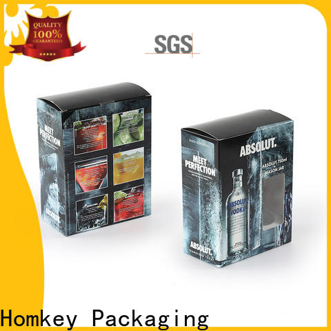 Homkey Packaging wine spirits box owner for gift wrapping