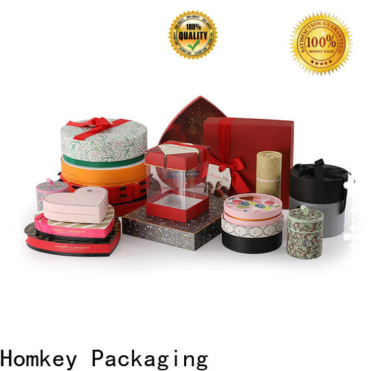 Homkey Packaging boxes chocolate packing boxes owner for gift packing
