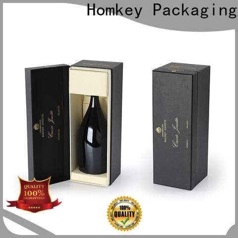 Homkey Packaging carboard wine packaging factory for gift wrapping