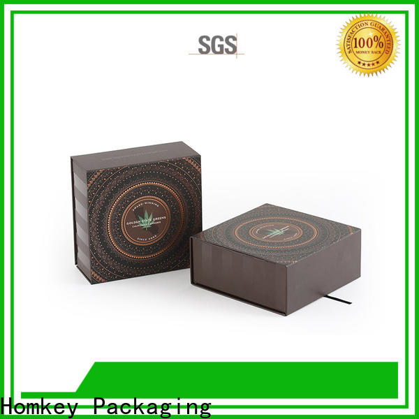 Homkey Packaging display CBD packaging long-term-use for factory