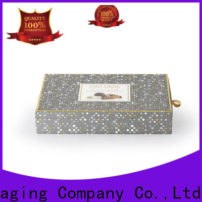 hot-sale chocolate packaging piece owner for factory