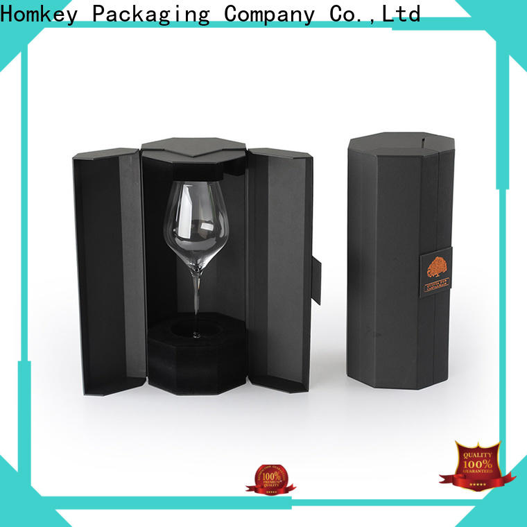 Homkey Packaging cardboard wine packaging experts for gift wrapping