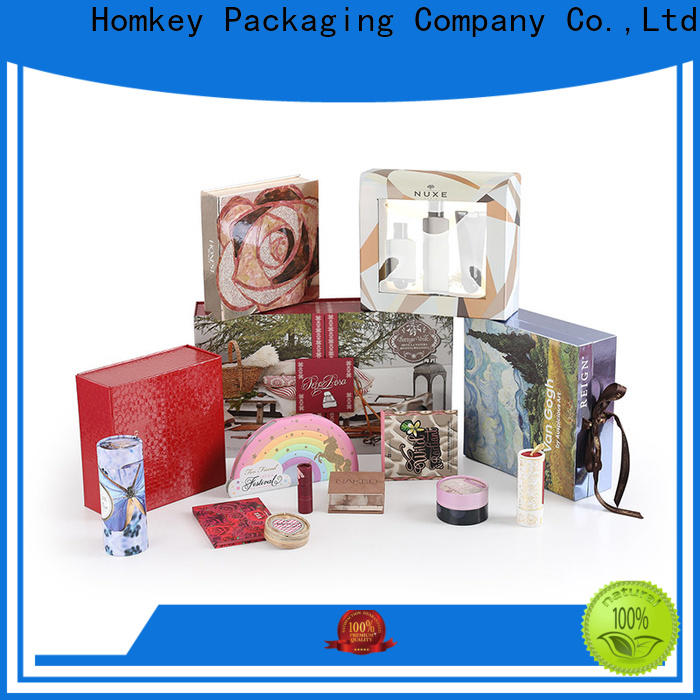 Homkey Packaging foldable skincare packaging boxes wholesale for cosmetics
