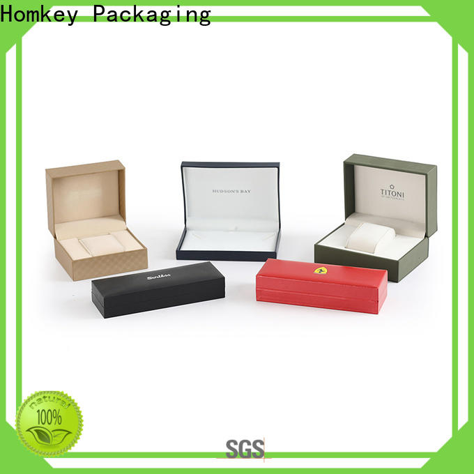 Homkey Packaging high-end jewelry gift boxes widely-use for gift wrapping