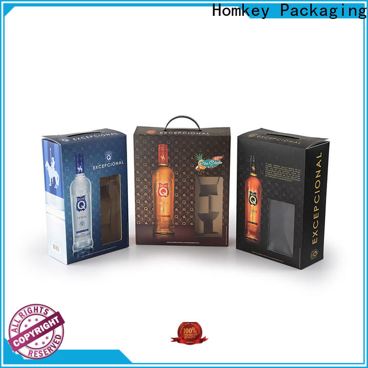 nice wine gift box package widely-use for gift packing