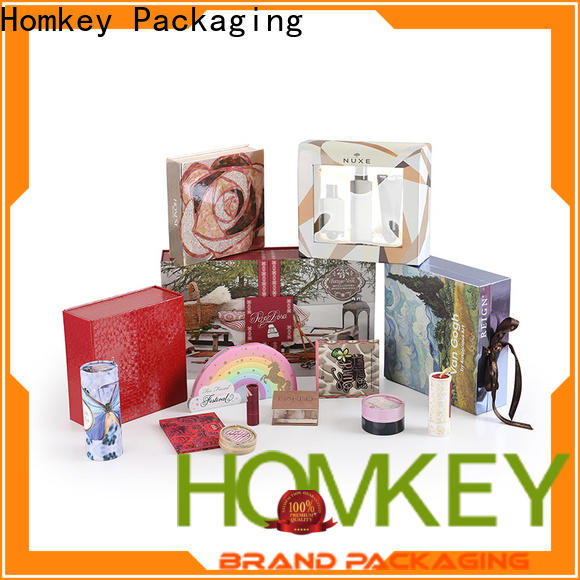 Homkey Packaging fine- quality makeup packaging boxes experts for maquillage