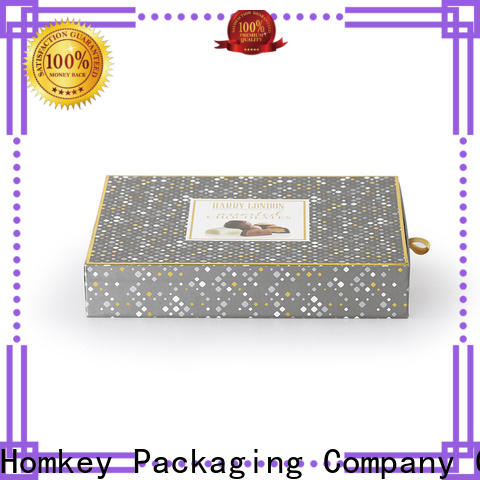 Homkey Packaging heart custom printed boxes for factory