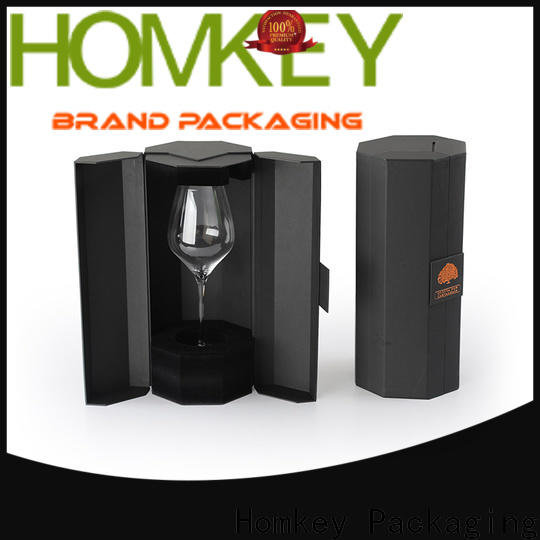nice wine packaging box factory for wire packing