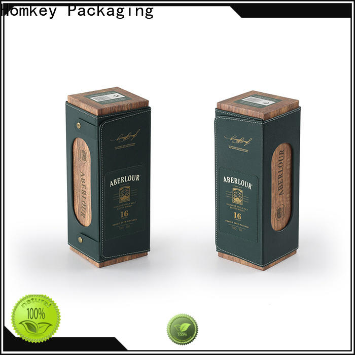 Homkey Packaging newly wine packaging certifications for wire packing