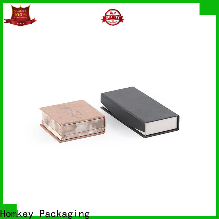 Homkey Packaging luxury makeup packaging boxes manufacturer for maquillage