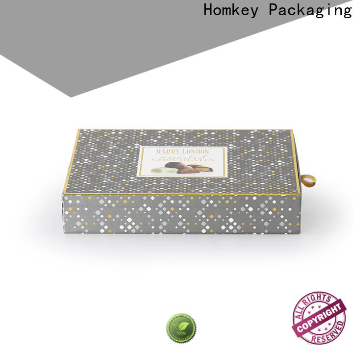 Homkey Packaging popular cheap chocolate boxes free quote for factory