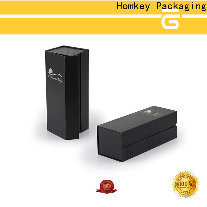 Homkey Packaging wine wine packing boxes supplier for gift wrapping