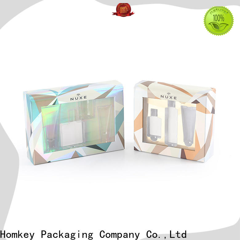 Homkey Packaging collapsible cosmetic box experts for Perfume