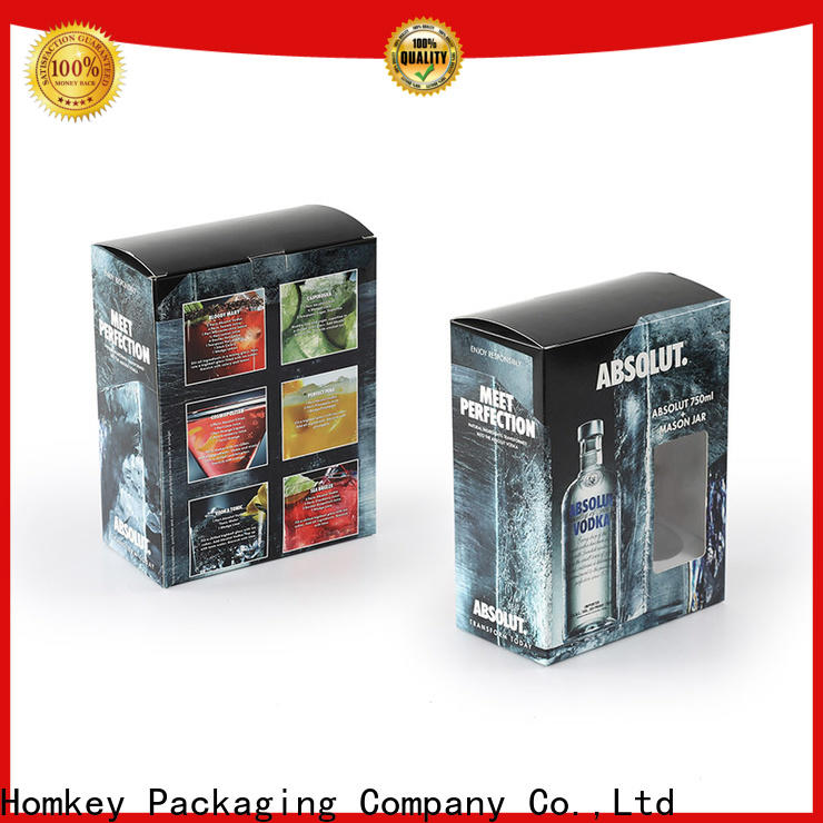 newly wine case box vodka experts for gift wrapping
