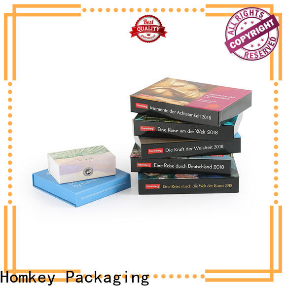 Homkey Packaging paper custom gift boxes wholesale for gift packing