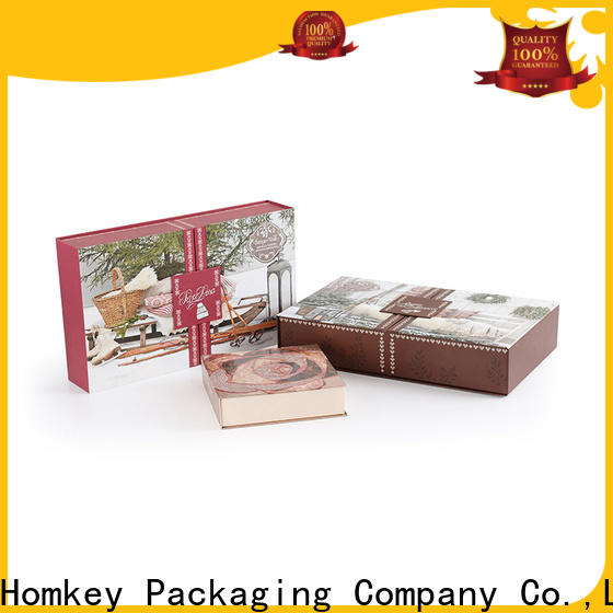 Homkey Packaging industry cosmetic packaging boxes wholesale for skincare items