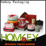 Homkey Packaging nice cheap chocolate boxes owner for gift packing