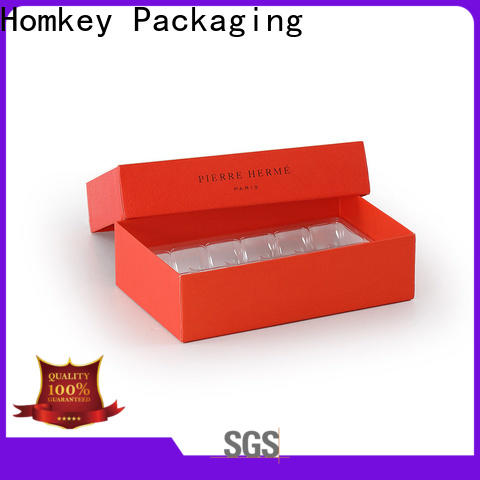 nice custom chocolate boxes pallet supplier for gift wrapping