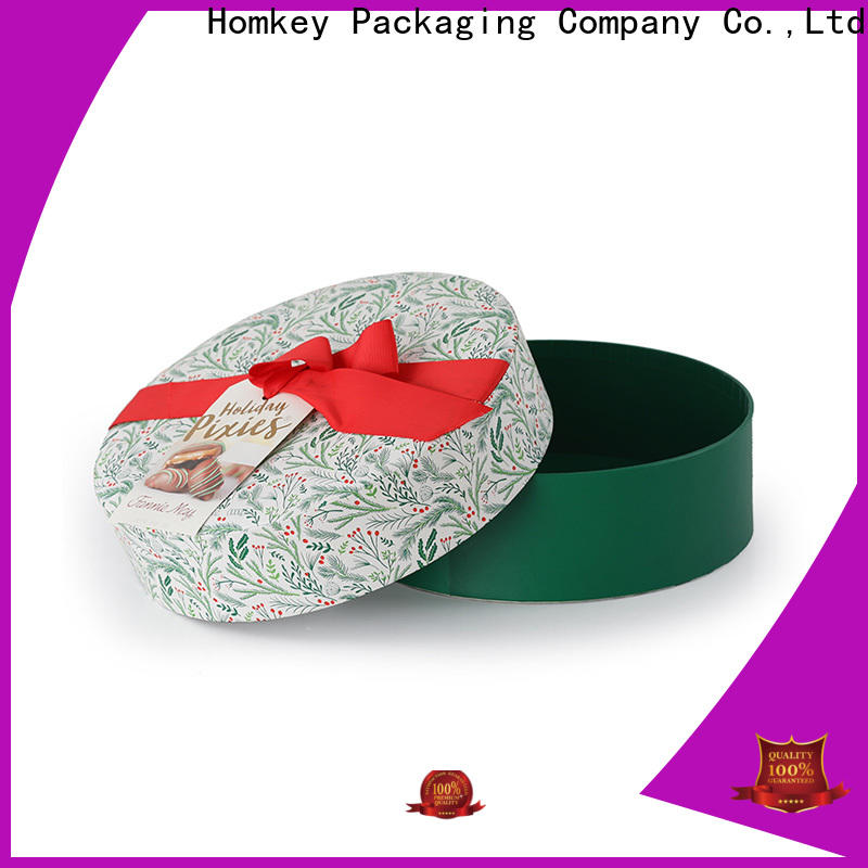 Homkey Packaging popular chocolate gift boxes order now for factory