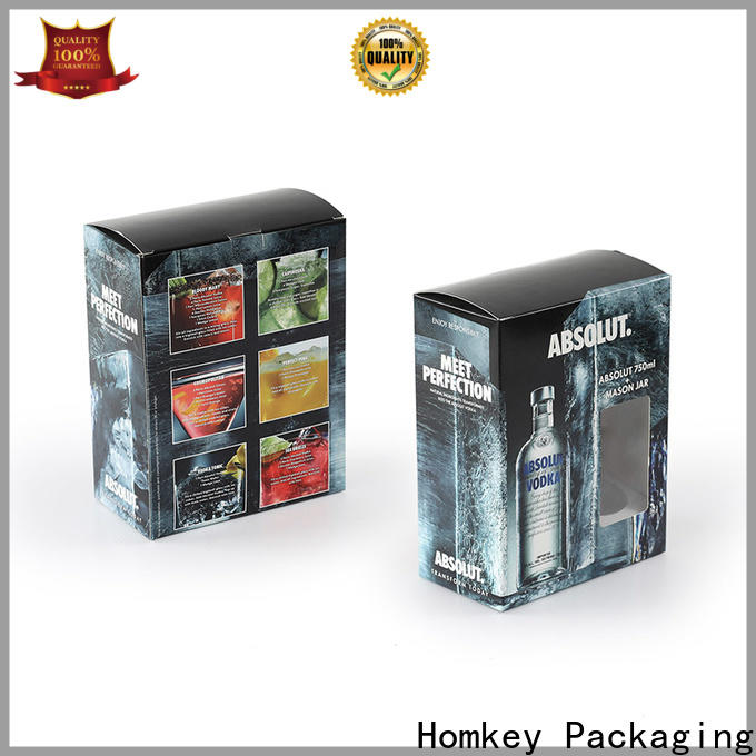 best wine bottle packaging cardboard supplier for gift wrapping