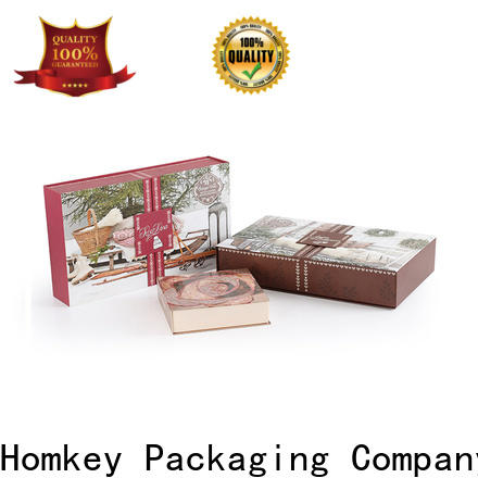 Homkey Packaging printed makeup packaging boxes wholesale for beauty items