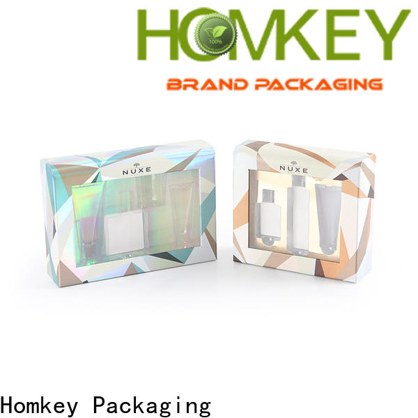 Homkey Packaging quality cosmetic packaging boxes factory for skincare items