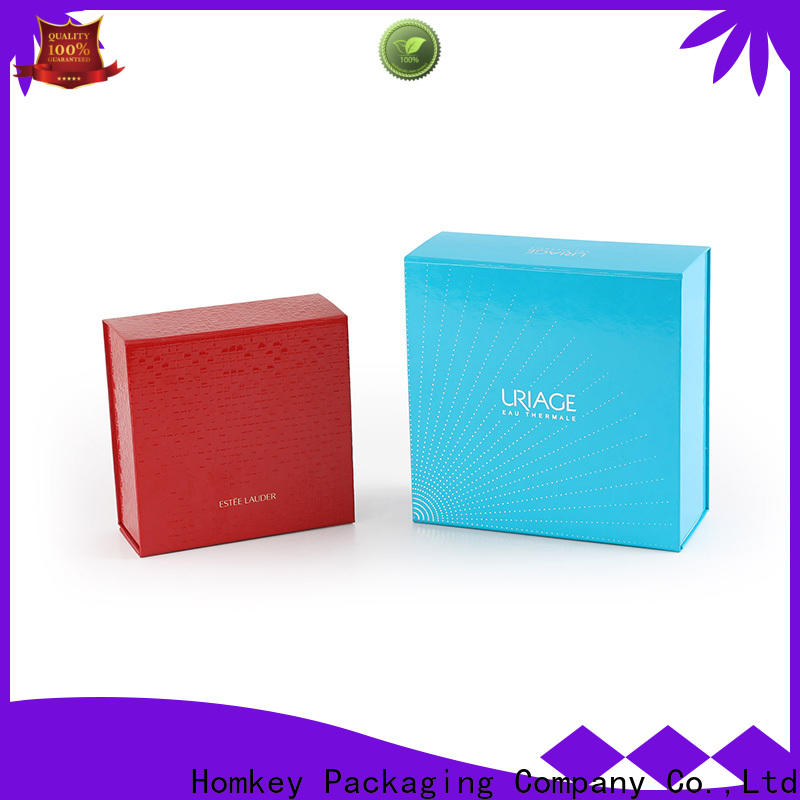 Homkey Packaging skincare cosmetic boxes factory for maquillage
