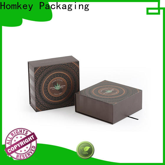 Homkey Packaging gift personalized packaging box free design for medical