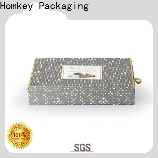 Homkey Packaging popular food packaging boxes long-term-use for product packing